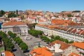 リスボンの航空写真 — ストック写真