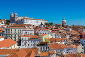 Panoramic view of Lisbon — Stock Photo