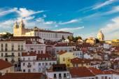 Lisbon arial view — Stock Photo