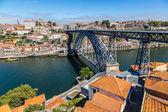 Dom Luis ich in Porto Brücke — Stockfoto