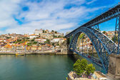 Dom Luis I bridge in Porto — Stock Photo