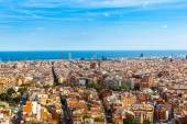 View of Barcelona from Park Guell — Stock Photo