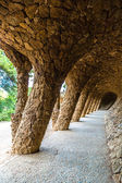 Parco guell a Barcellona, Spagna — Foto Stock