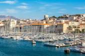 Vecchio porto di Marsiglia — Foto Stock