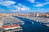 マルセイユの古い港 — ストック写真