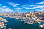 Port in Marseille, France — Stock Photo
