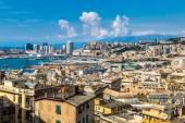 Port de Gênes en Italie — Photo