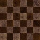 Seamless wood chessboard background. — Stock Photo