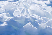 Ice and snow texture — Stock Photo