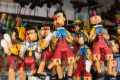 Pinocchio puppet dolls — Stock Photo