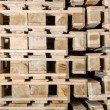 Stock wood pallets details — Stock Photo #63168441