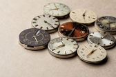 Time and clock mechanisms — Stock Photo