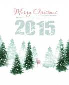 Jul bakgrund — Stockvektor