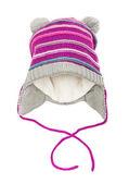 Children's winter hat — Stock Photo