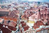 Prague - Tilt shift lens. — Stock Photo