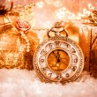 Christmas pocket watch — Stock Photo #53289863