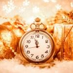 Christmas pocket watch — Stock Photo #54750617