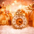 Christmas pocket watch — Stock Photo #54750633
