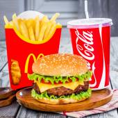 McDonald's food. — Stock Photo
