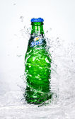 Bottle Soft drink Sprite — Stock Photo