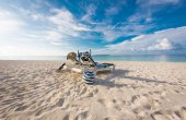 Maldives beach — Stock Photo