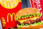 McDonald's food. — Stock Photo