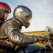 Bikers on the road — Stock Photo #68146211