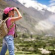 Woman traveler — Stock Photo #68146451