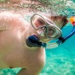 Snorkeler. — Stock Photo #71311077