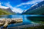 Beautiful Nature Norway. — Stock Photo