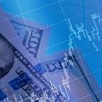 Stock market chart — Stock Photo #81462836