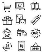 Online Store icon — Stock Vector