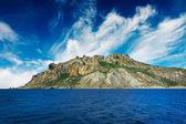 Mystic bergen in de kara-dag. Krim. — Stockfoto