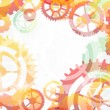 Gears abstract background — Stock Vector #75604805