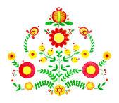 Floreale illustrazione ad acquerello — Vettoriale Stock
