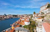 Fishing quarter Ribeira in the city of Porto — Stock Photo