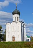 Church on Nerl River — Stock Photo