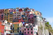Houses in Liguria, Italy — Stock Photo