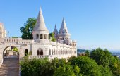 Fisherman Bastion on  Buda Castle — Stock Photo