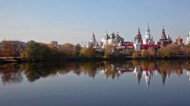 Izmailovo kremlin — Stock Video