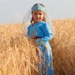 Girl in Armenian dress — Stock Photo #57736317