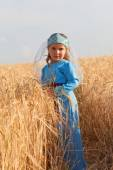 Girl in Armenian dress — Stock Photo