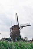 Old windmill — Стоковое фото