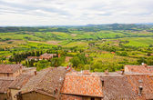 View of Val d Orcia valley — Stock Photo