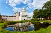 Territory of the Rostov Kremlin — Stock Photo