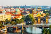 Beautiful view of Prague — Stock Photo