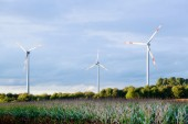 Wind generator turbines — Foto Stock
