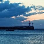 Beacon and the boat — Stock Photo #60529981
