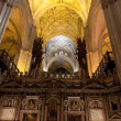 Seville Cathedral interior. — Stock Photo #62252703