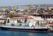 Sevastopol Shipbuilding plant — Stock Photo